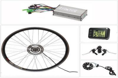 Ombouwset 36volt/48volt voor sportieve fietsen