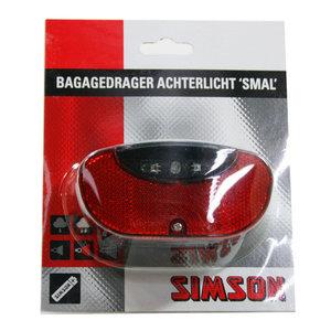 Simson achterlicht batterij